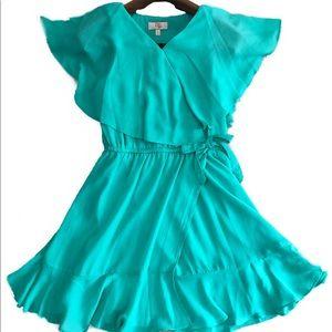 Teal/Green GB Girls dress